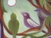 Moon Loving Birds