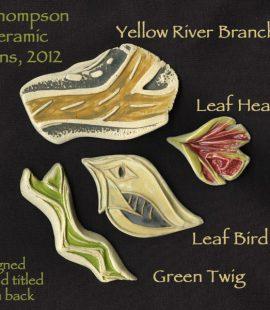Ceramic Pins by Susan Cohen Thompson